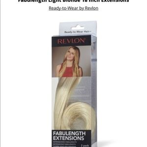 "Revlon 18"" 2 Pack Fabulength LIGHT BLONDE Hair"